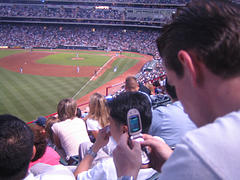 Texting at the Game