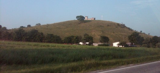 Mount Metamora Castle and Cross