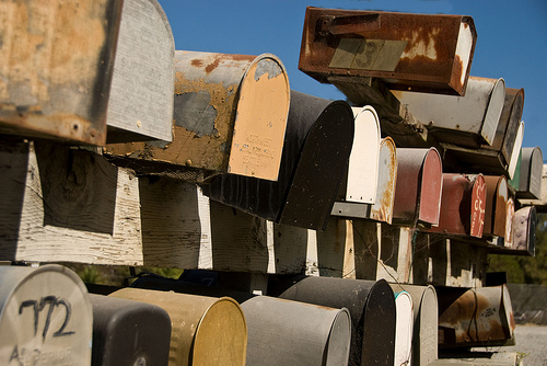 Mail Boxes by Gregory Jordan / Flickr