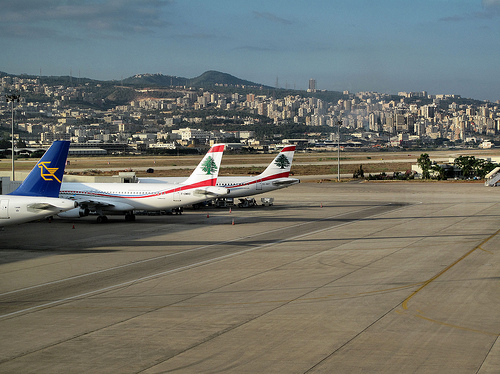 Beirut airport / photo by fran001@yahoo.com via Flickr