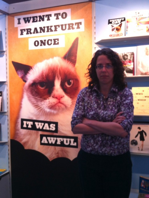 Grumpy Cat at Frankfurt Book Fair