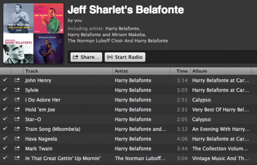 A Harry Belafonte Playlist | VQR Online
