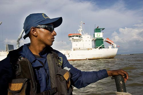 Colombian Coast Guard Officer