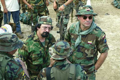 Salvatore Mancuso and AUC Troops