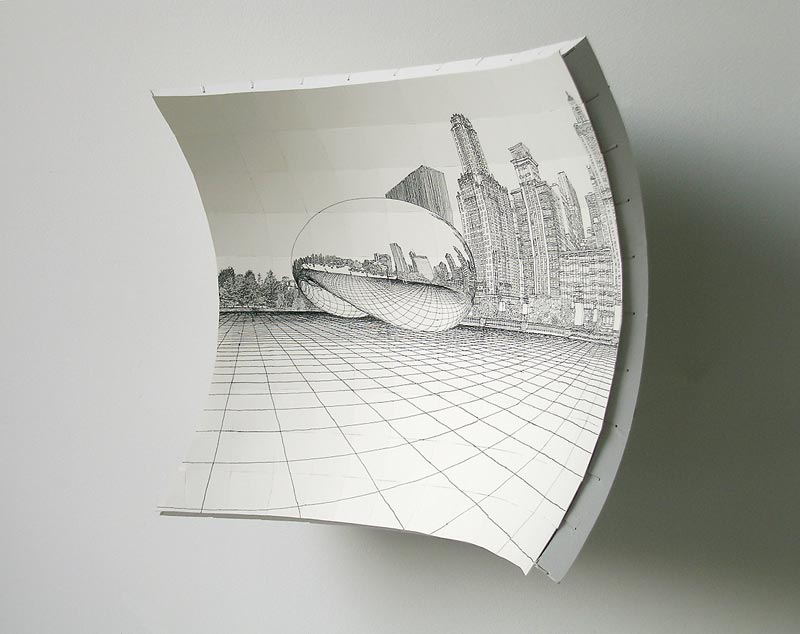 open door drawing perspective. Drawing On A Curved Easel Open Door Drawing Perspective