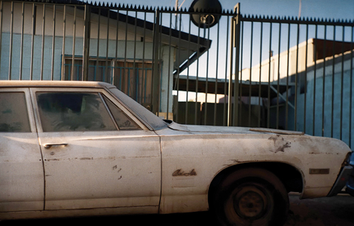 In spite of its run-down appearance, Mario Zuleta's old Bel Air still watches over his family, decades after his death.