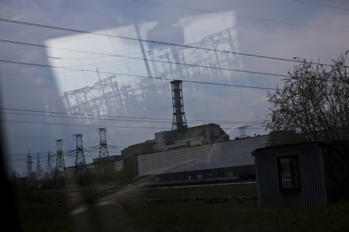 The fourth reactor at the Chernobyl Nuclear Power Plant.