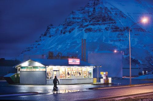 The Grill is the one business in sleepy Bolungarvík that stays open past 8 p.m.