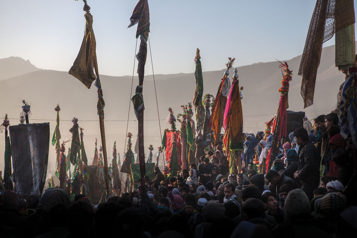 Sufi celebration. Kabul, Afganistan. 2010. Photo by Monika Bulaj.