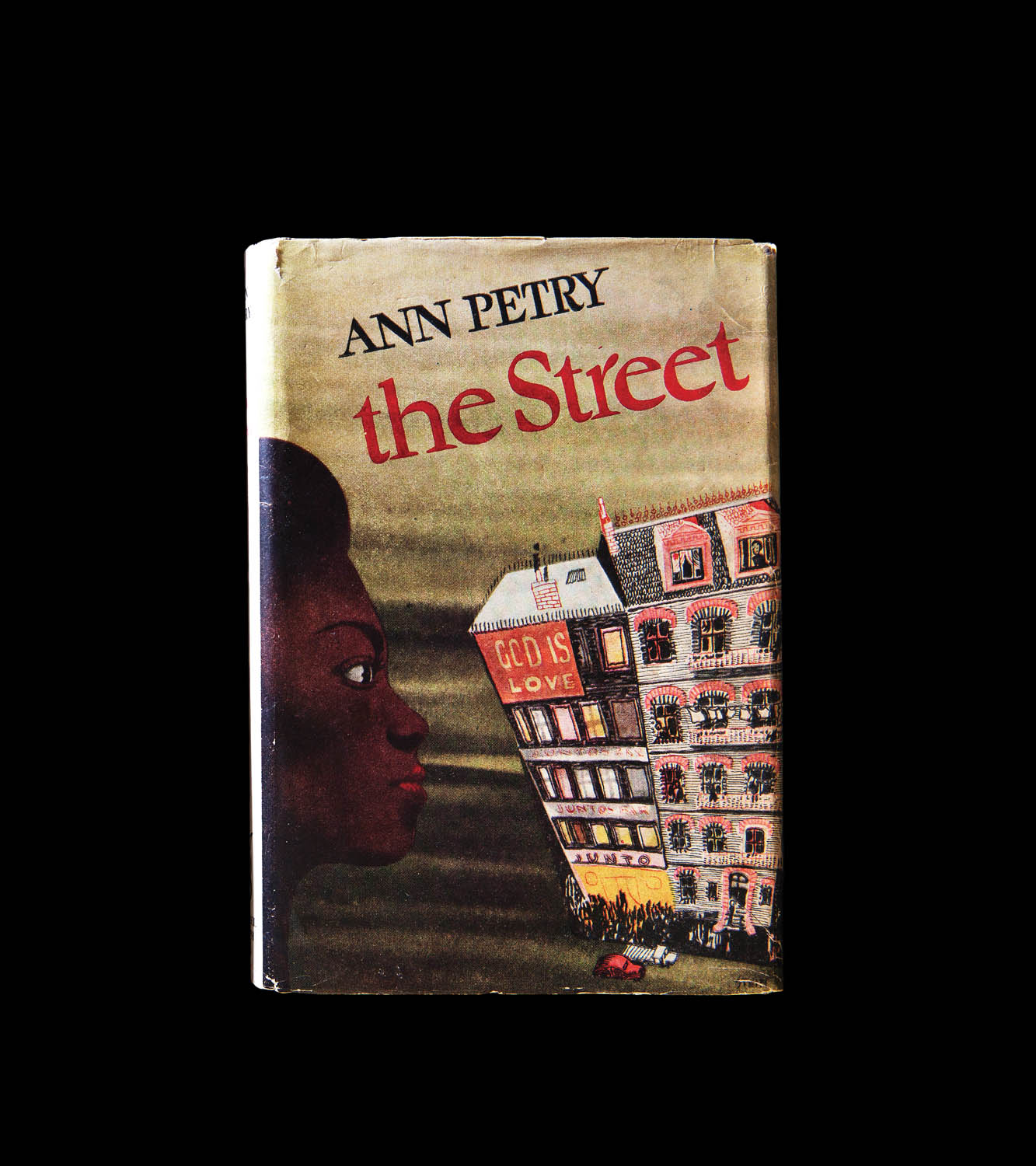 Ann Petry's The Street was the first book by an African American woman to sell a million copies in the US. (First UK edition above.) Photographed by Jo Emmerson