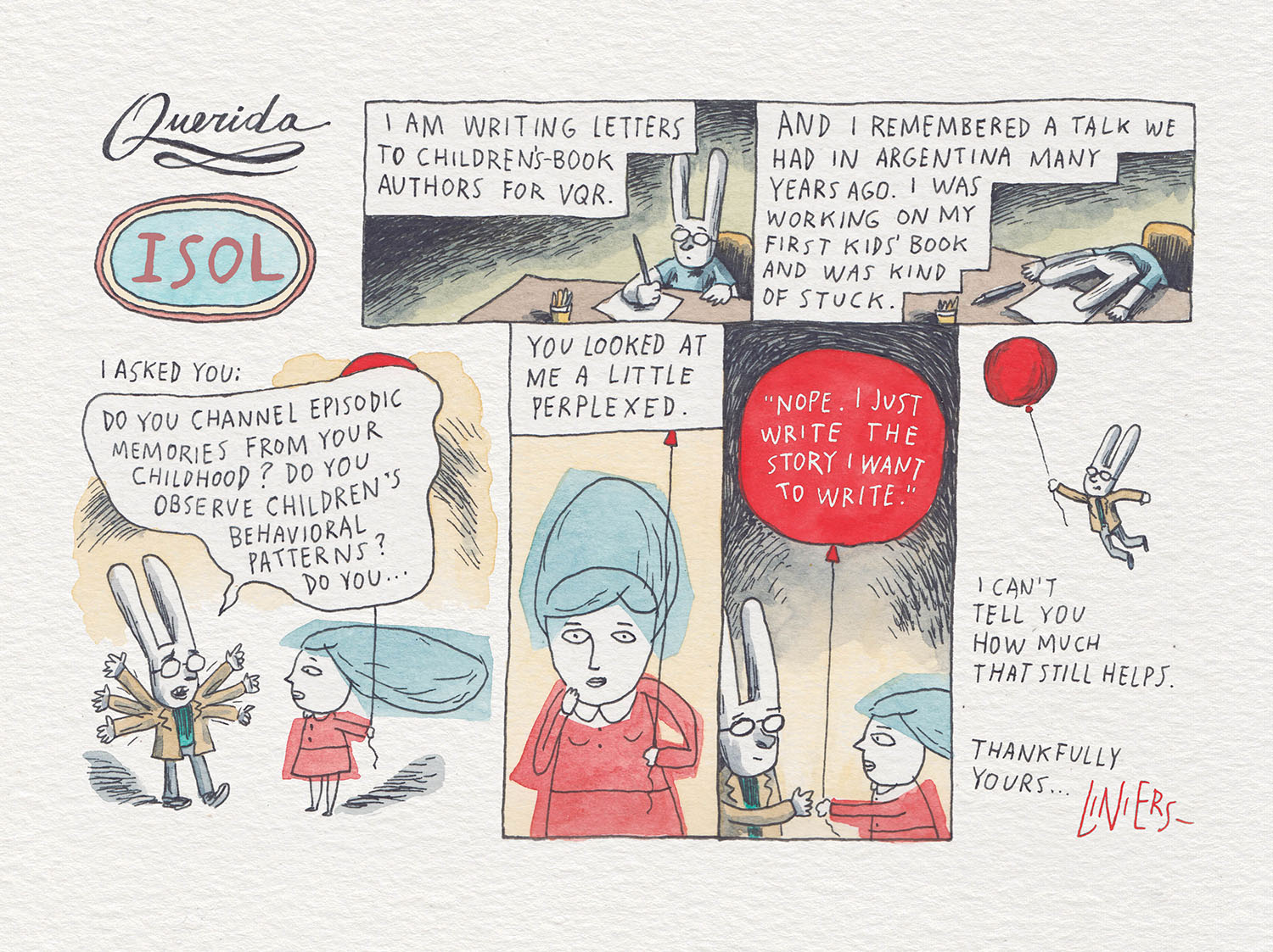 Illustration by Liniers