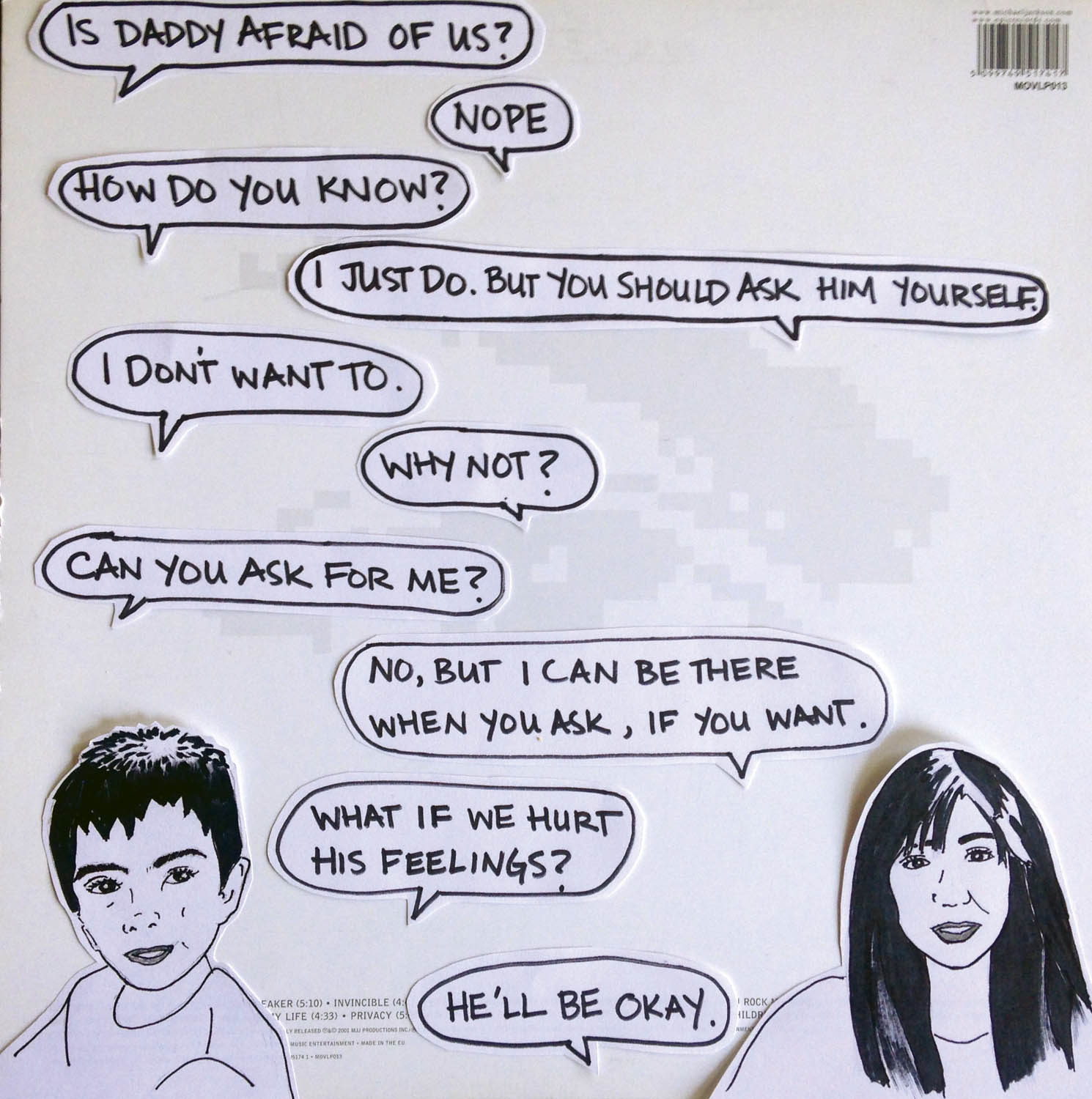 Early, discarded panel from the Michael Jackson conversation. (MIRA JACOB)