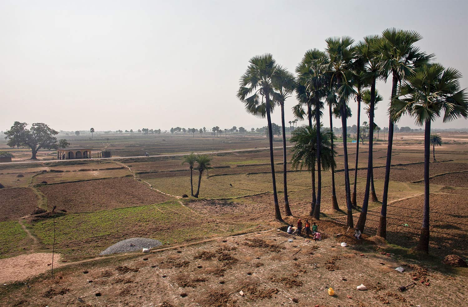 On the road in Bihar, 2013.
