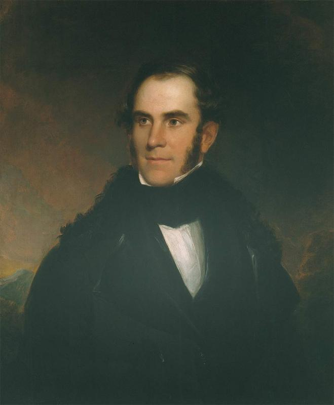 "Asher B. Durand, <i>Portrait of Thomas Cole</i>, 1837. Oil on canvas, 30 -5/8"" x 25 -5/8"". (Courtesy of the Berkshire Museum. Gift of Zenas Crane.)"