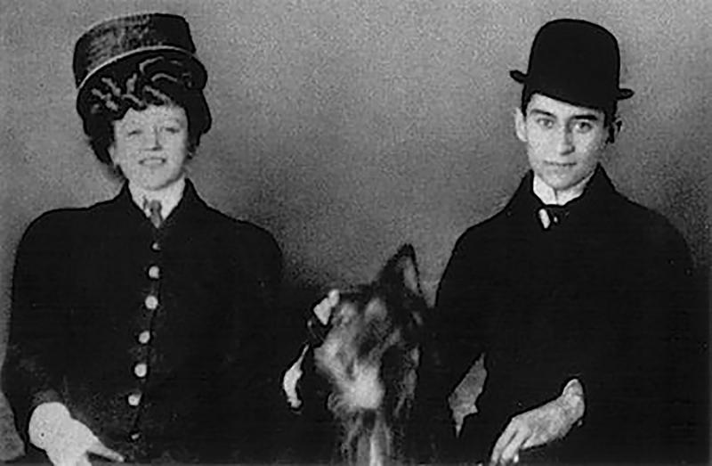 Kafka and Hansi, ca. 1906–1908.