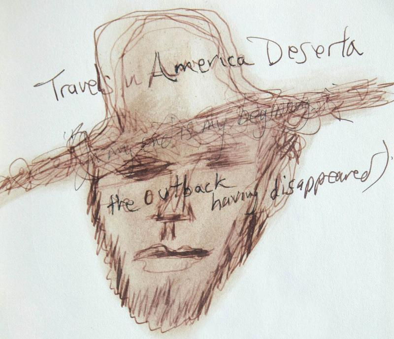 Illustration by Lawrence Ferlinghetti