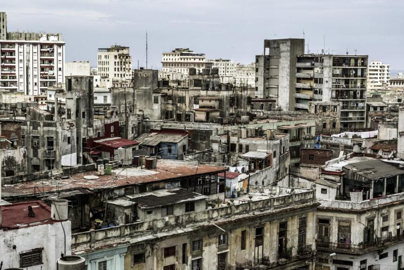 View of Havana's Vedado neighborhood.