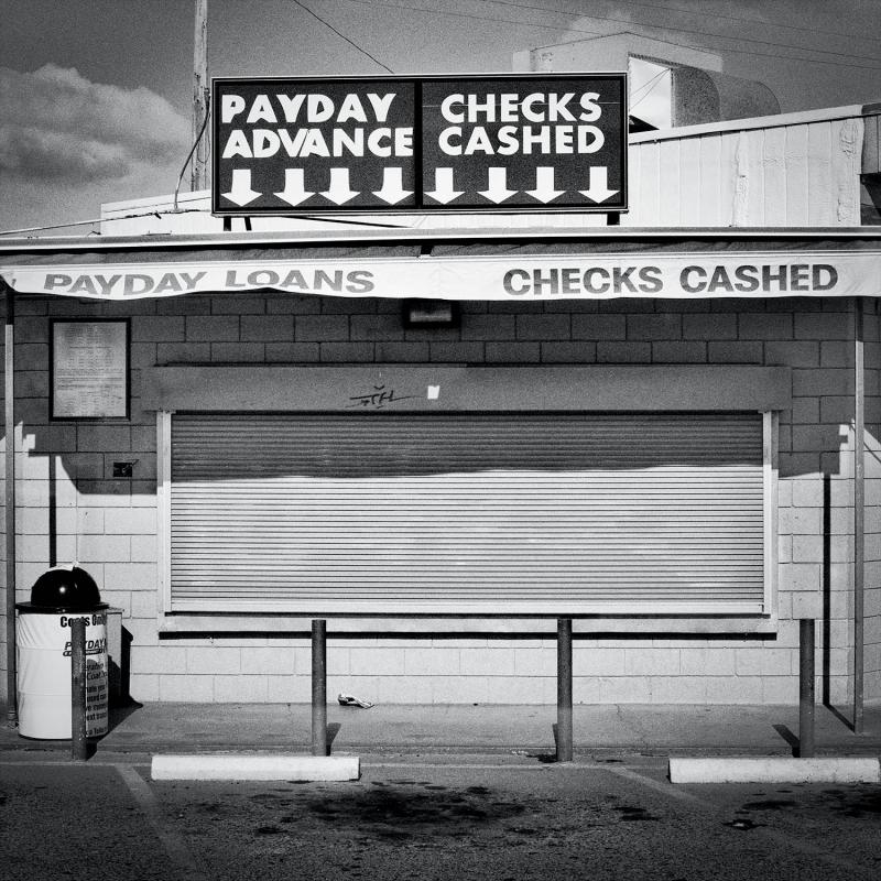 Payday Lender. Fresno, CA. Population 494,665. Population living below the poverty line: 28.9%. Fresno County farms produce more than $6 billion in crops annually. In 2005, the city of Fresno had the highest rate of concentrated poverty in the nation.