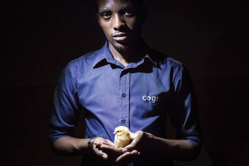 Hilary Muramira runs Retronics, a start-up that aims to produce small-scale egg incubators for Rwanda's nascent poultry industry. The company hopes to reduce the relatively high cost of eggs and chicken in order to make them affordable for consumers.