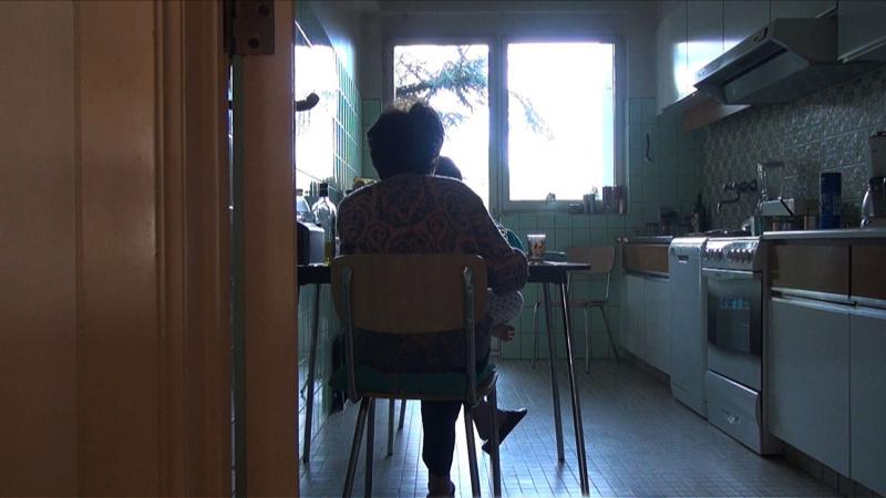 A scene from Chantal Akerman's No Home Movie, 2015.