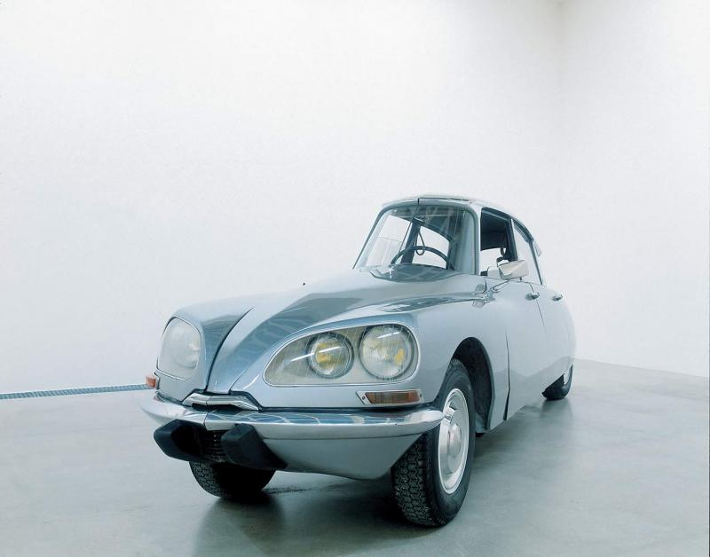 "<i>La DS</i>, 1993. Modified Citroën, 59"" x 192 -7/8"" x 47 -1/4""."