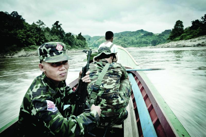 A humanitarian mission on the Thai-Burmese border.