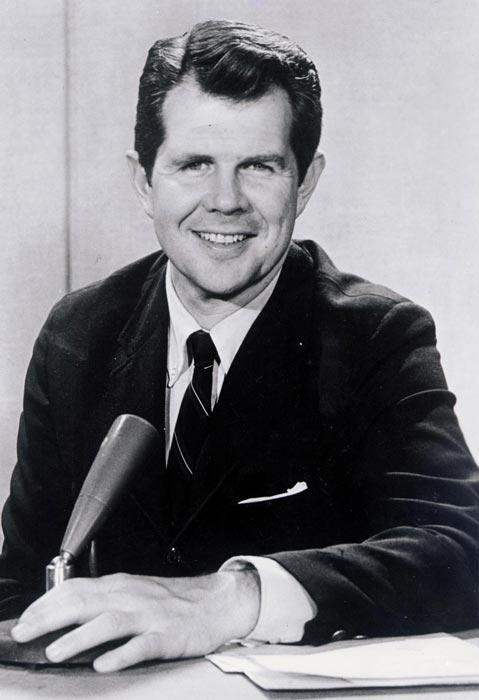 Robertson got his start in broadcasting in 1961 after buying a down-and-out TV station in Portsmouth, Virginia (Courtesy The Virginian-Pilot).