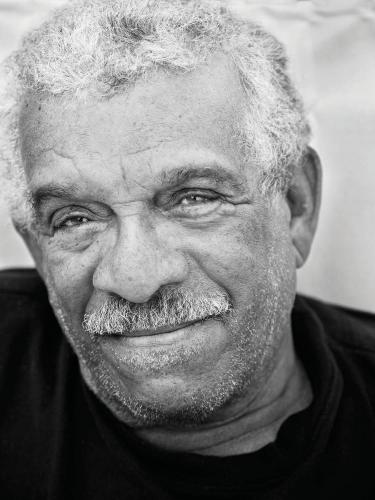 Derek Walcott. (Photograph by Danielle Devaux, Courtesy of Farrar, Straus and Giroux)